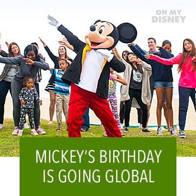 Mickey's Birthday Is Going Global