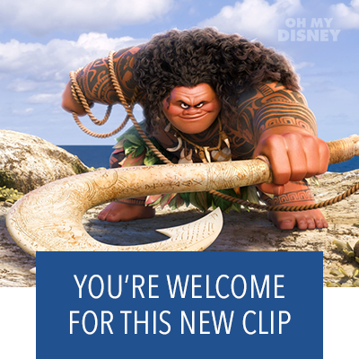 Moana Clip: You're Welcome