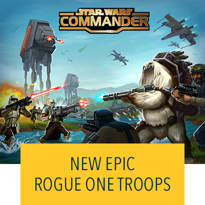 Star Wars Commander Rogue One Troops