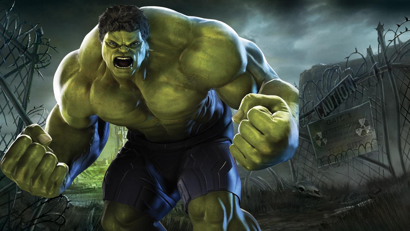 thr hulk how tall