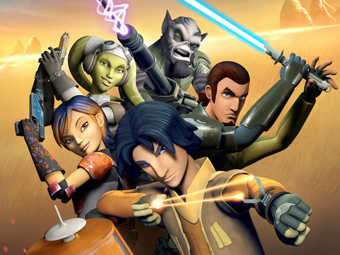 The Ghost crew from Star Wars Rebels