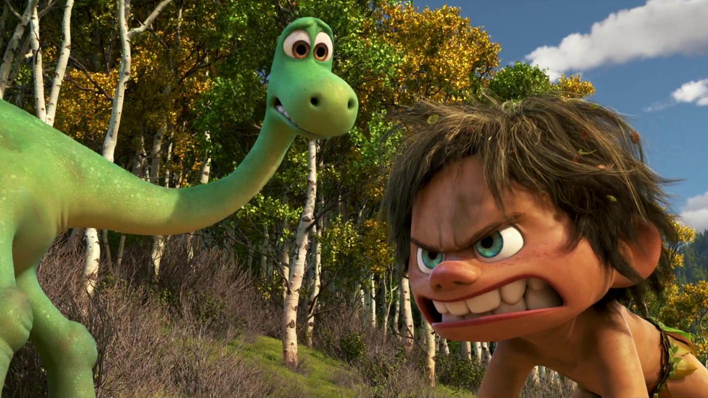The Good Dinosaur Official Trailer