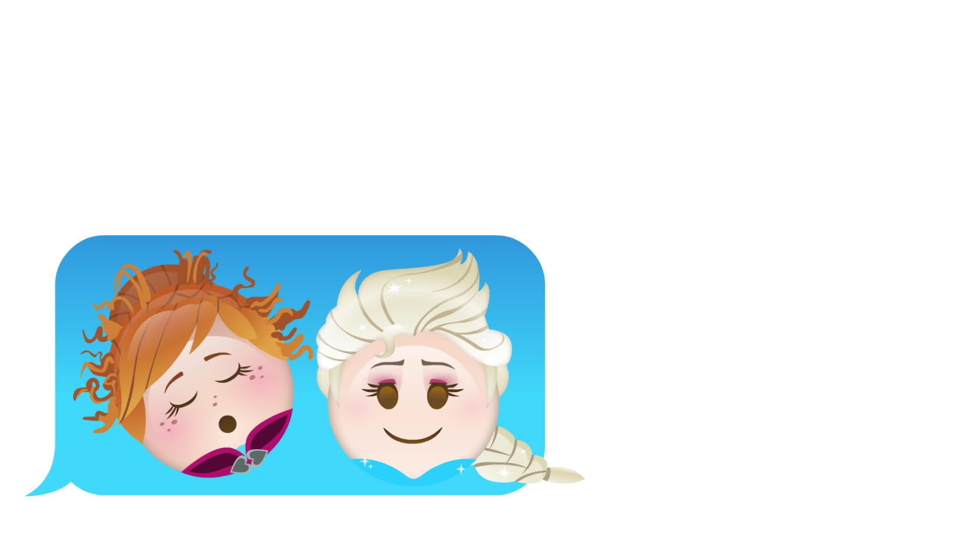 Emoji Anlatımıyla Karlar Ülkesi Kutlama
