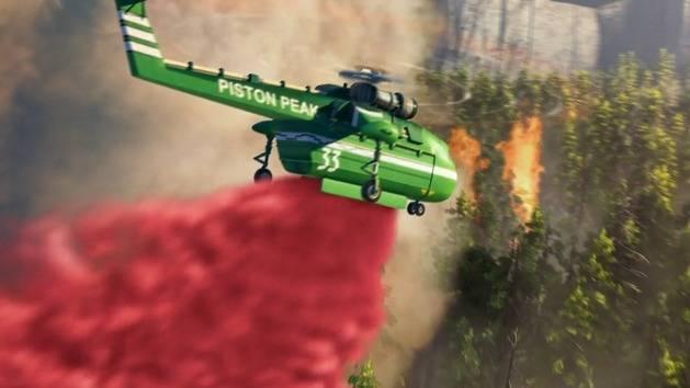 Disney celebra papás y bomberos - Disney's Planes: Fire & Rescue