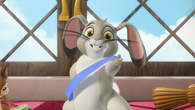 Sofia the First: Blue Ribbon Bunny