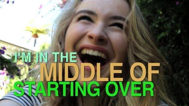 """The Middle of Starting Over"" (Lyric Video) - Sabrina Carpenter"