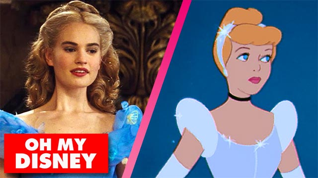 The Cinderella Trailer Gets Animated | Oh My Disney