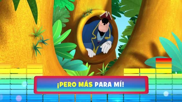 """Encontrar el tesoro. De la serie: """"La casa de Mickey Mouse"""""""
