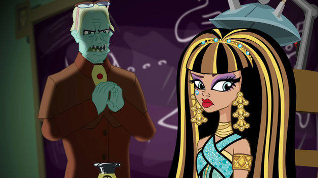 Creepfast Club - Monster High Episode