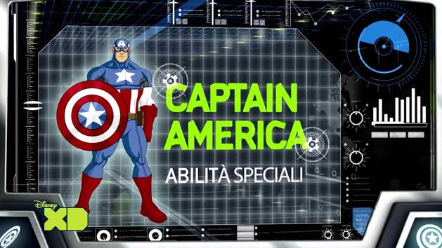 Avengers Assemble - Capitan America