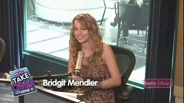 Bridgit Mendler Big News - Take Over with Ernie D.