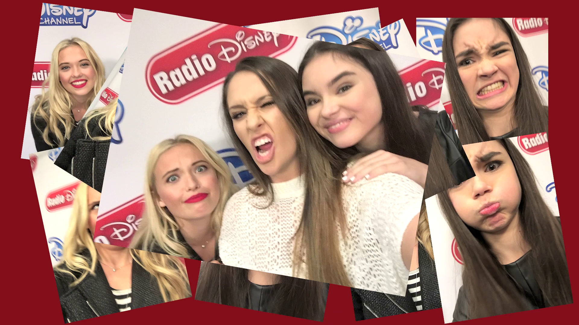 Lauren Taylor and Landry Bender Selfie Challenge | Radio Disney