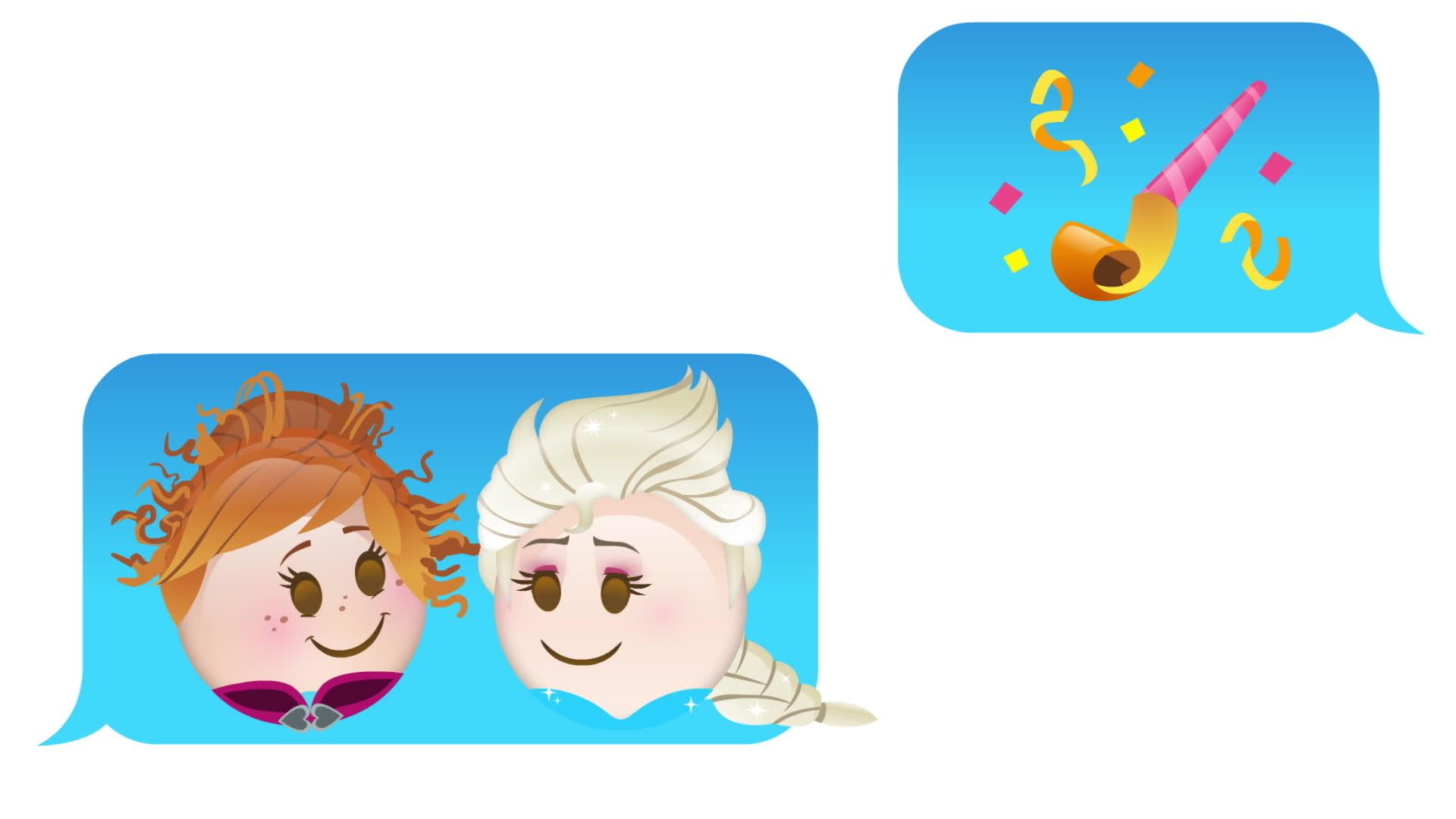 Χρόνια Πολλά Ψυχρά κι Ανάποδα – όπως θα το έλεγαν τα Emoji