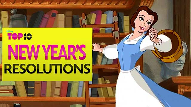 New Year's Resolutions - Disney Top 10