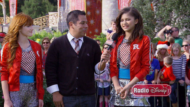 Bella and Zendaya Holiday Parade Flashback - Take Over with Ernie D.