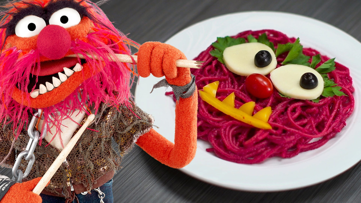 Animal's Punk Pink Pasta | Dishes by Disney