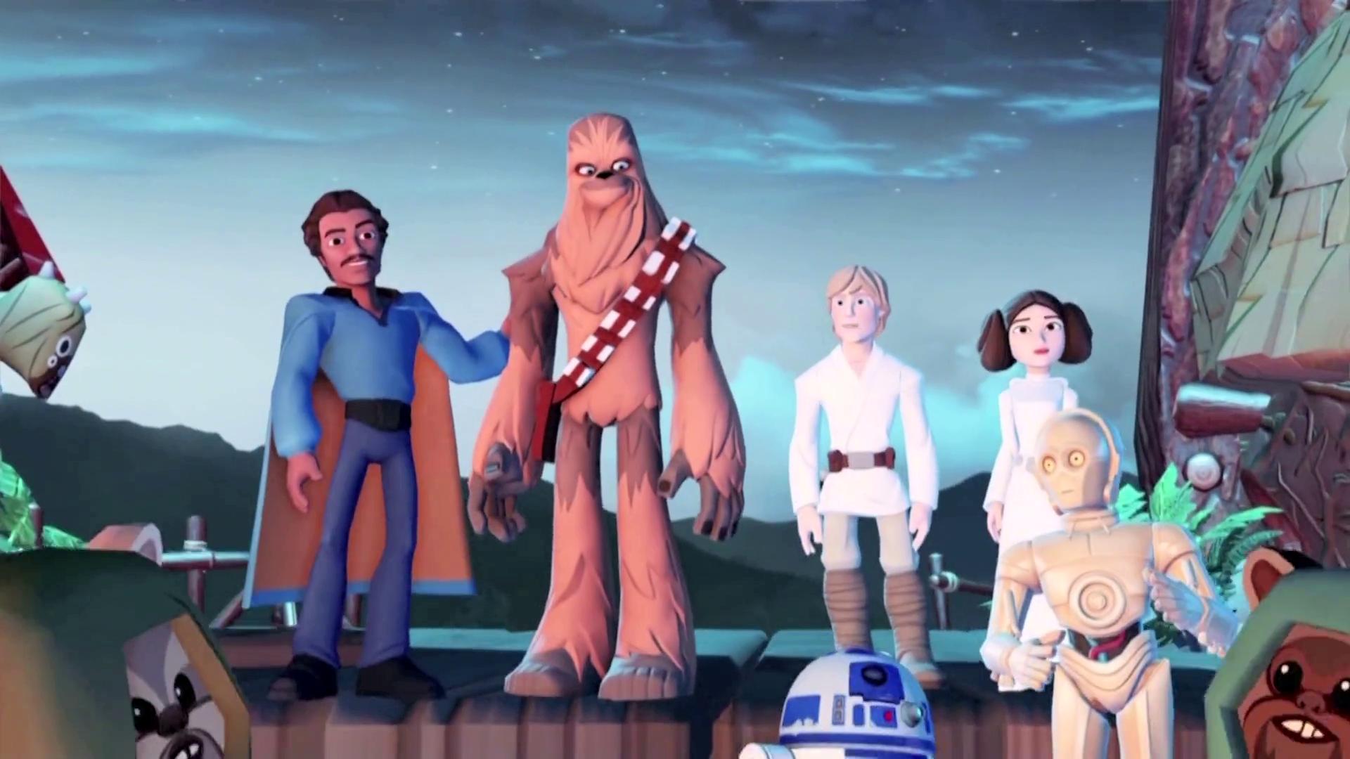Take the Star Wars Disney Infinity 3.0 Animation Tour