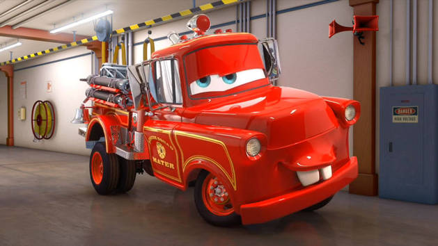 Cars Toons - Rescue Squad Mater