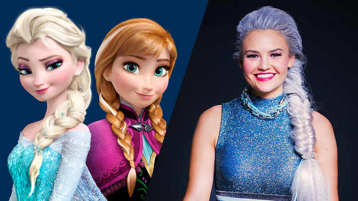 Frozen Transformation Time-Lapse   Disney Style