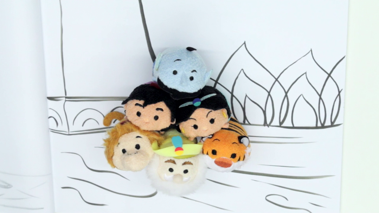 Aladdin as Told by Tsum Tsums | Oh My Disney