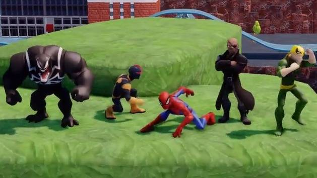 Spider-Man Play Set - Disney Infinity Marvel Super Heroes Trailer