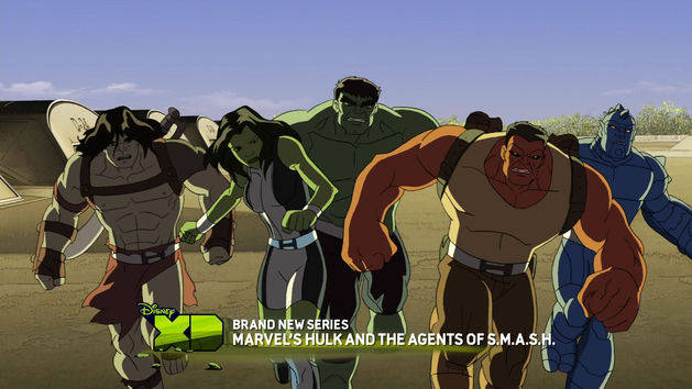 Family of Hulks!