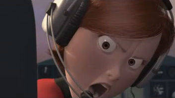 Plane Crash - The Incredibles