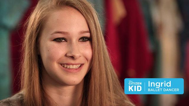 Ingrid, a Ballet Dancer - Citizen Kid by Disney