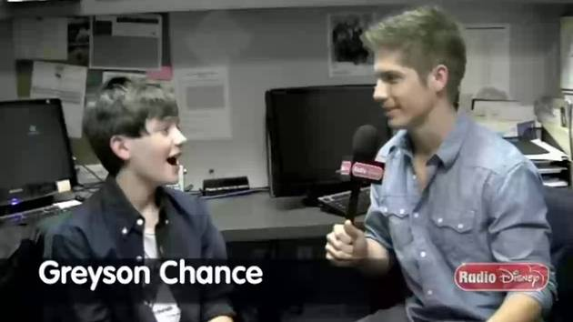 Greyson Chance Questions - Celebrity Take with Jake