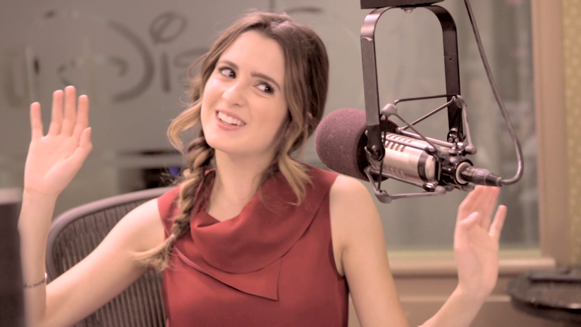 Laura Marano Interviews Vocal Coach Eric Vetro | Radio Disney