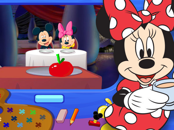 Le dessin magique de Mickey