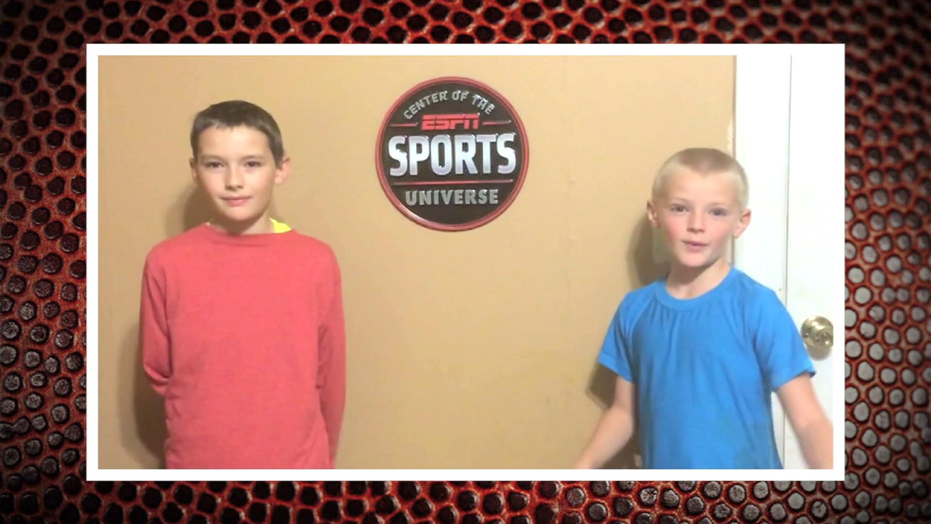 ESPNU Little Experts Week 1 Winners