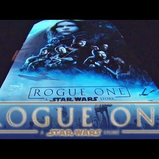 Rogue One: A Star Wars Story als bewegliches Mural | Making Of
