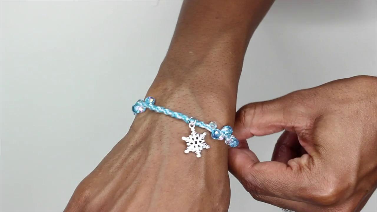 Frozen Inspired DIY Bracelet | Disney Style
