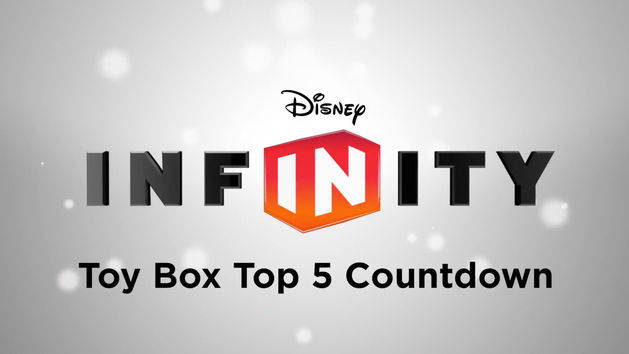 Top 5 Toy Box Countdown for 1/2/2014 - DISNEY INFINITY