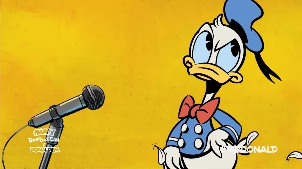 Happy Beatbox Day z Donaldem: Wszystkiego najlepszego