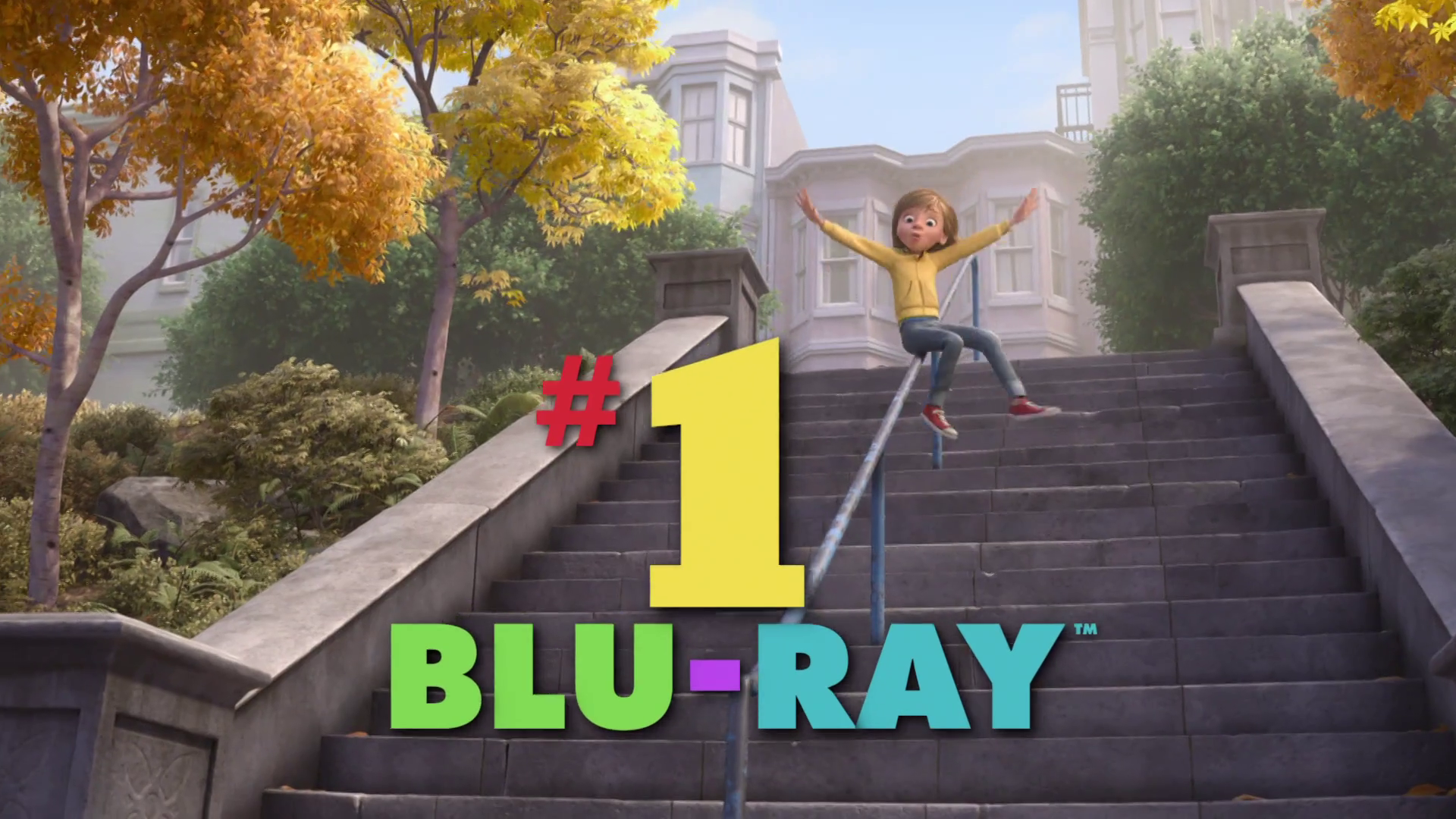 #1 on Blu-ray - Inside Out