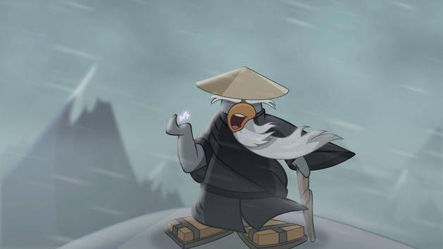 Club Penguin's Card Jitsu Snow