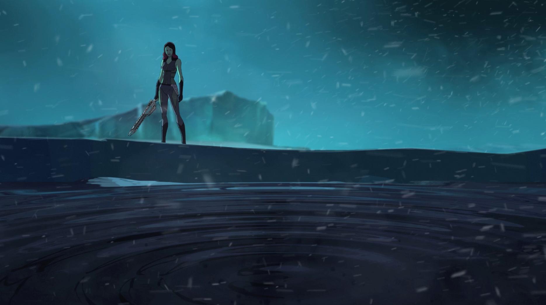 Gamora - Parte 1 - Guardianes de la Galaxia