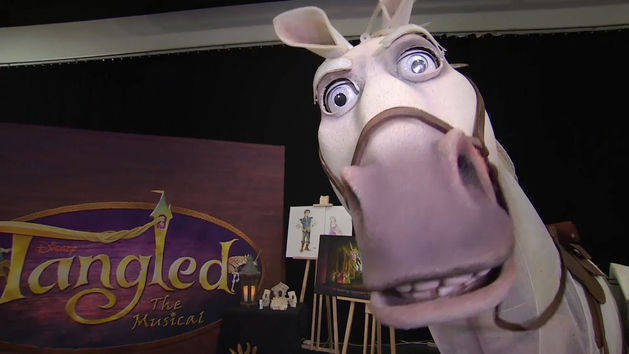 Meet Maximus From Tangled The Musical | Oh My Disney