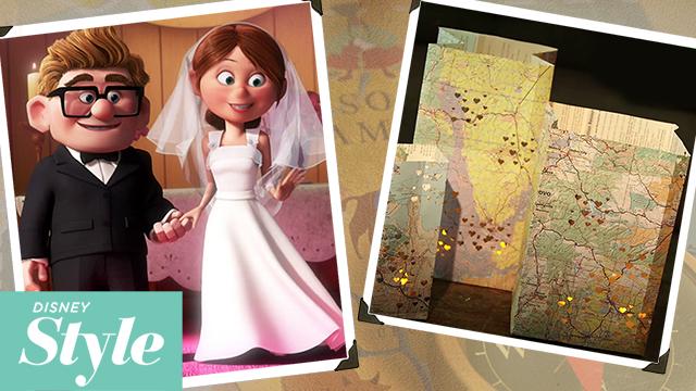 Up Adventure Map Luminaries   Disney Movie Night   Disney Style