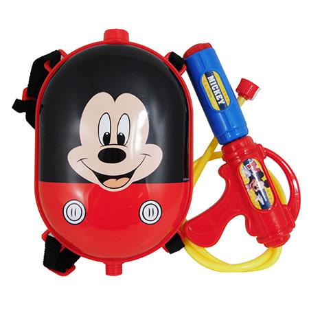 ปืนฉีดน้ำ Mickey Mouse พร้อมกระเป๋าสะพายหลังแบบแคปซูล