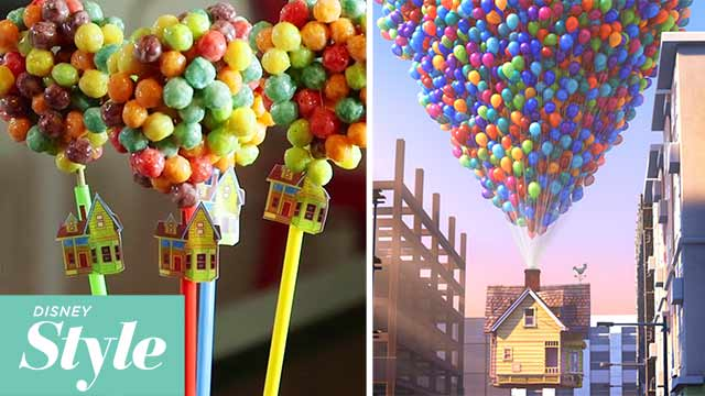 Up Balloon Bouquet Pops | Disney Movie Night | Disney Style