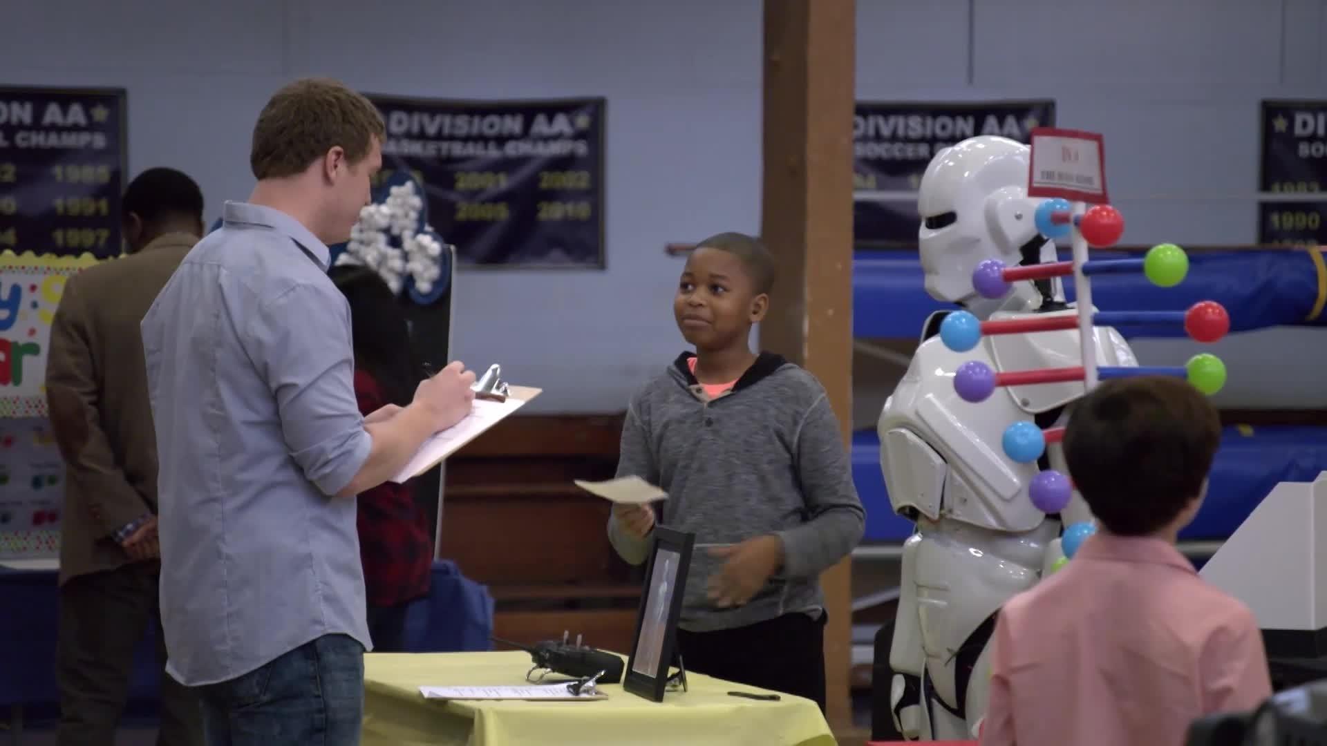 Gefopt - Losgeslagen robot