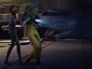 "Star Wars Rebels: ""Hera and Sabine, Alone in the Dark"""