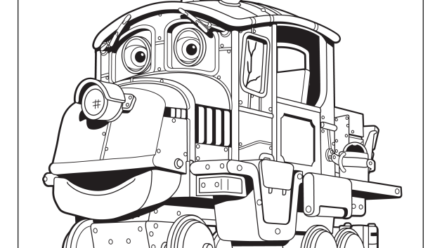 chuggington coloring pages and crafts disney junior