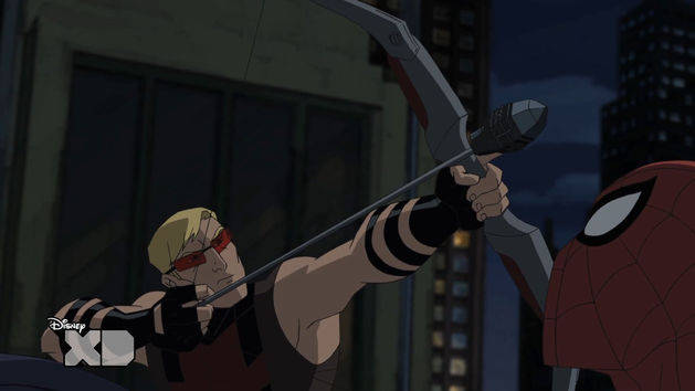 Ultimate Spider-Man - Hawkeye