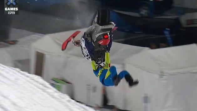 GoPro Snowmobile Best Trick - Daniel Bodin