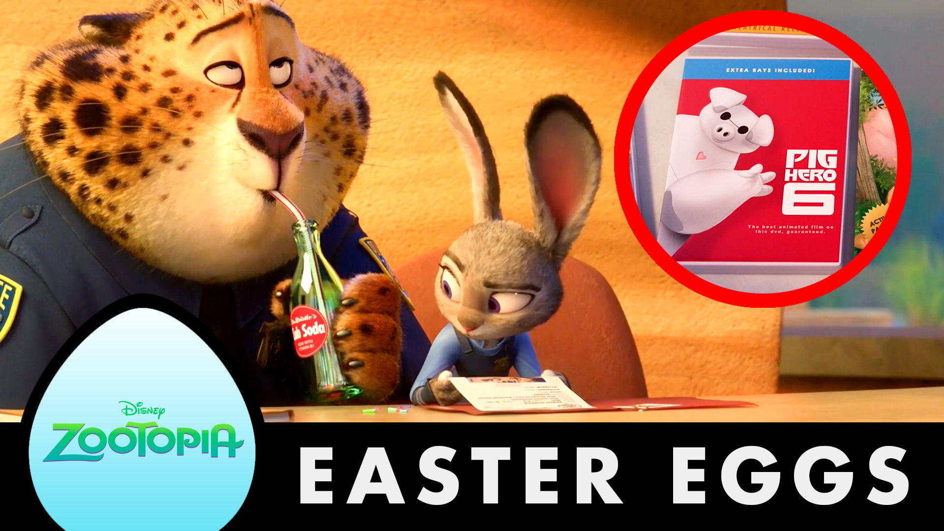Zootopia   10 Awesome Hidden Secrets and Easter Eggs