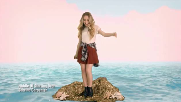 Sabrina Carpenter - video musicale - Middle Of Starting Over